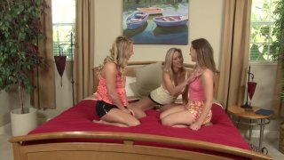 Streaming porn video still #17 from Lesbian Threeways