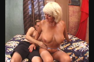 Streaming porn scene video image #1 from Granny Gets Her Muff Shaved
