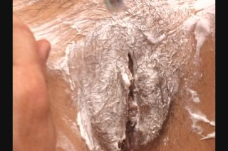 Streaming porn scene video image #2 from Granny Gets Her Muff Shaved
