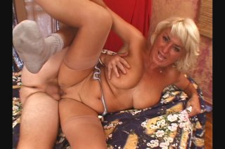 Streaming porn scene video image #8 from Granny Gets Her Muff Shaved