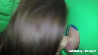 Streaming porn video still #1 from Real Public Glory Holes 4