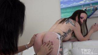 Streaming porn video still #2 from Two TGirls Vol. 2