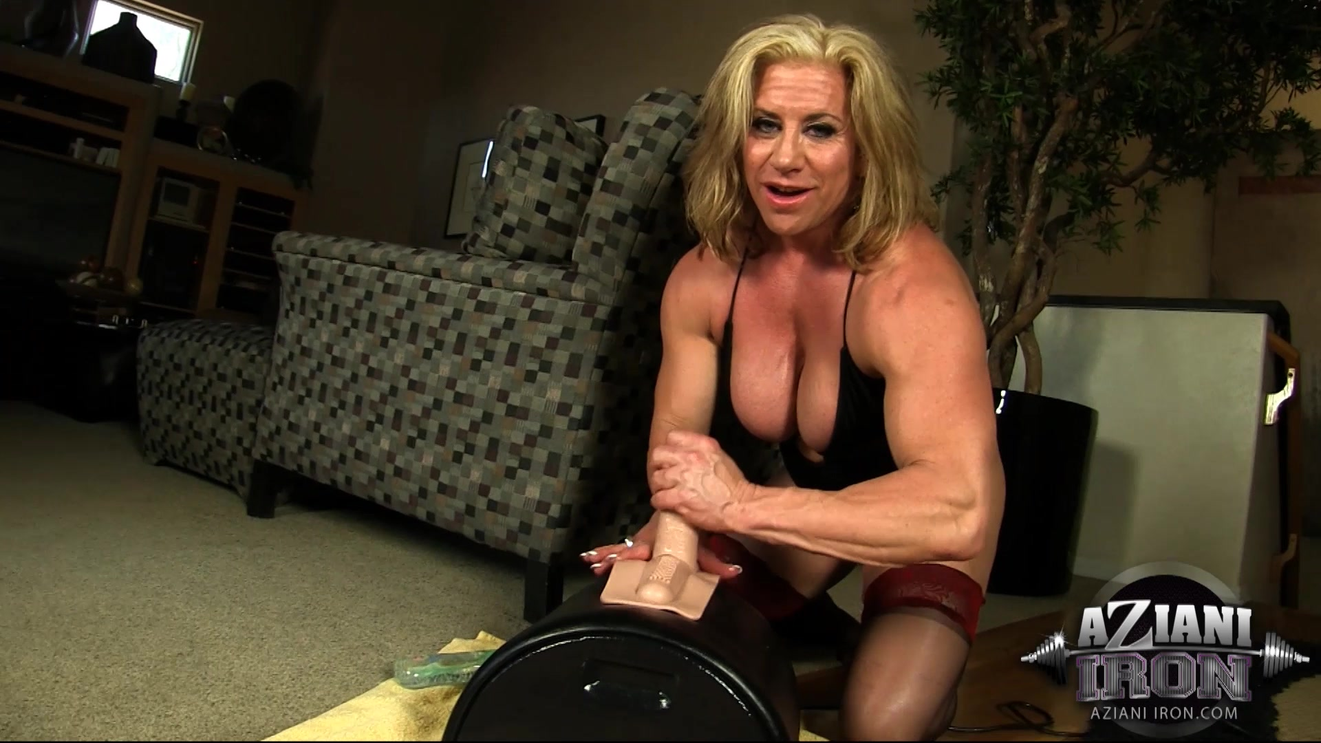 And sybian milf riders hayek big