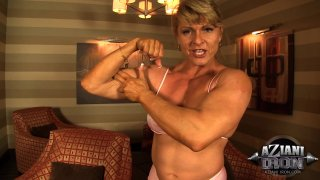 Streaming porn video still #2 from Muscle MILFs