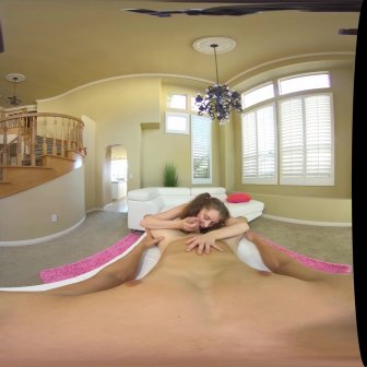 Elena Works Hard to Become the Head Cheerleader video capture Image