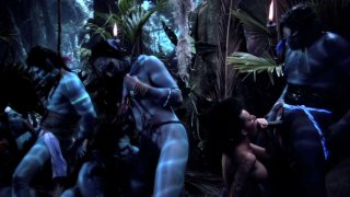 Streaming porn video still #1 from This Ain't Avatar XXX  3-D