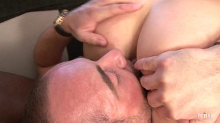 Streaming porn scene video image #7 from Mean GF Cuckolds Her BF With Black Stud
