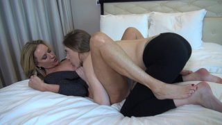 Streaming porn video still #6 from Beautiful Bi-Sexual Girlfriends Vol. 3