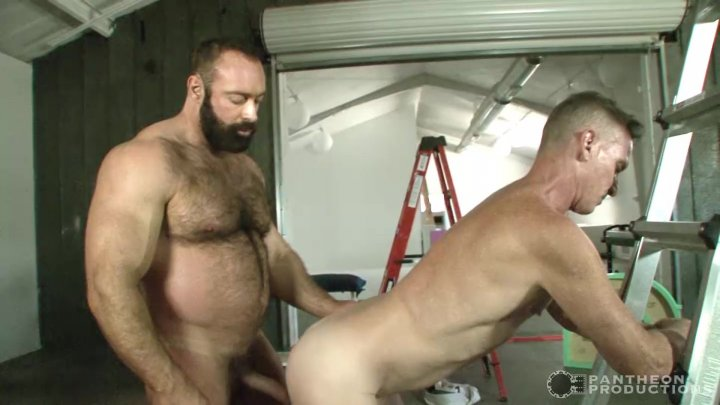 Streaming porn video still #5 from Muscle Dads in the Sun