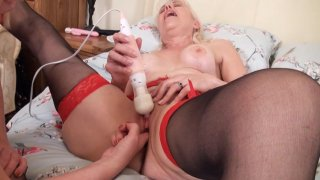 Streaming porn video still #8 from Mature British Lesbians #4