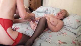 Streaming porn video still #9 from Mature British Lesbians #4