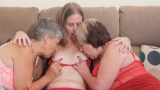 Streaming porn video still #1 from Mature British Lesbians #4