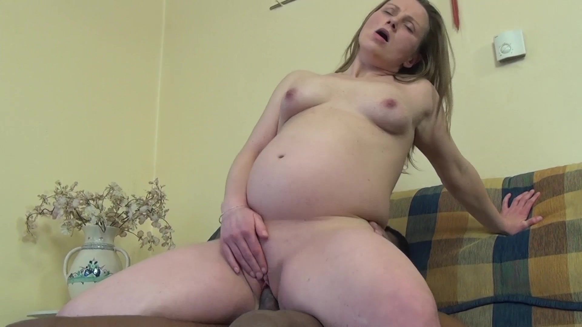 Blonde wet pussy close up