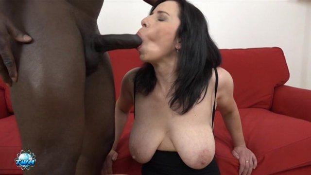 Streaming porn video still #3 from Grandmas Gone Black #5