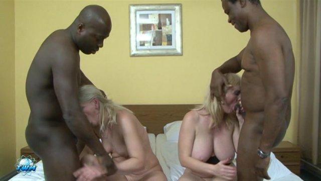 Streaming porn video still #4 from Grandmas Gone Black #5