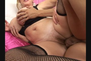 Streaming porn scene video image #5 from Big tits granny getting fucked hard by her nephew