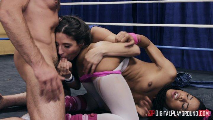 Streaming porn video still #4 from Blow: A DP XXX Parody