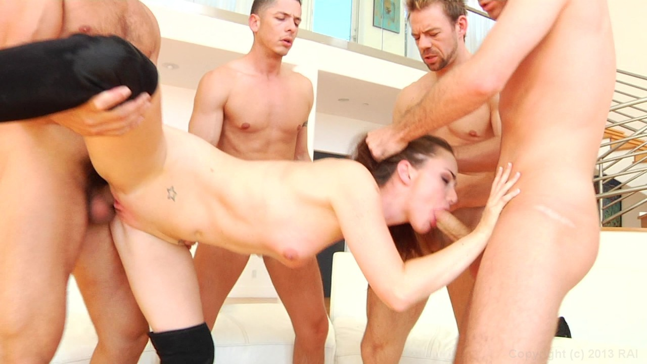 Sensual Brunette Lily Carter Takes On Multiple Cocks In A Hardcore Gangbang Streaming At Elegant Angel Membership