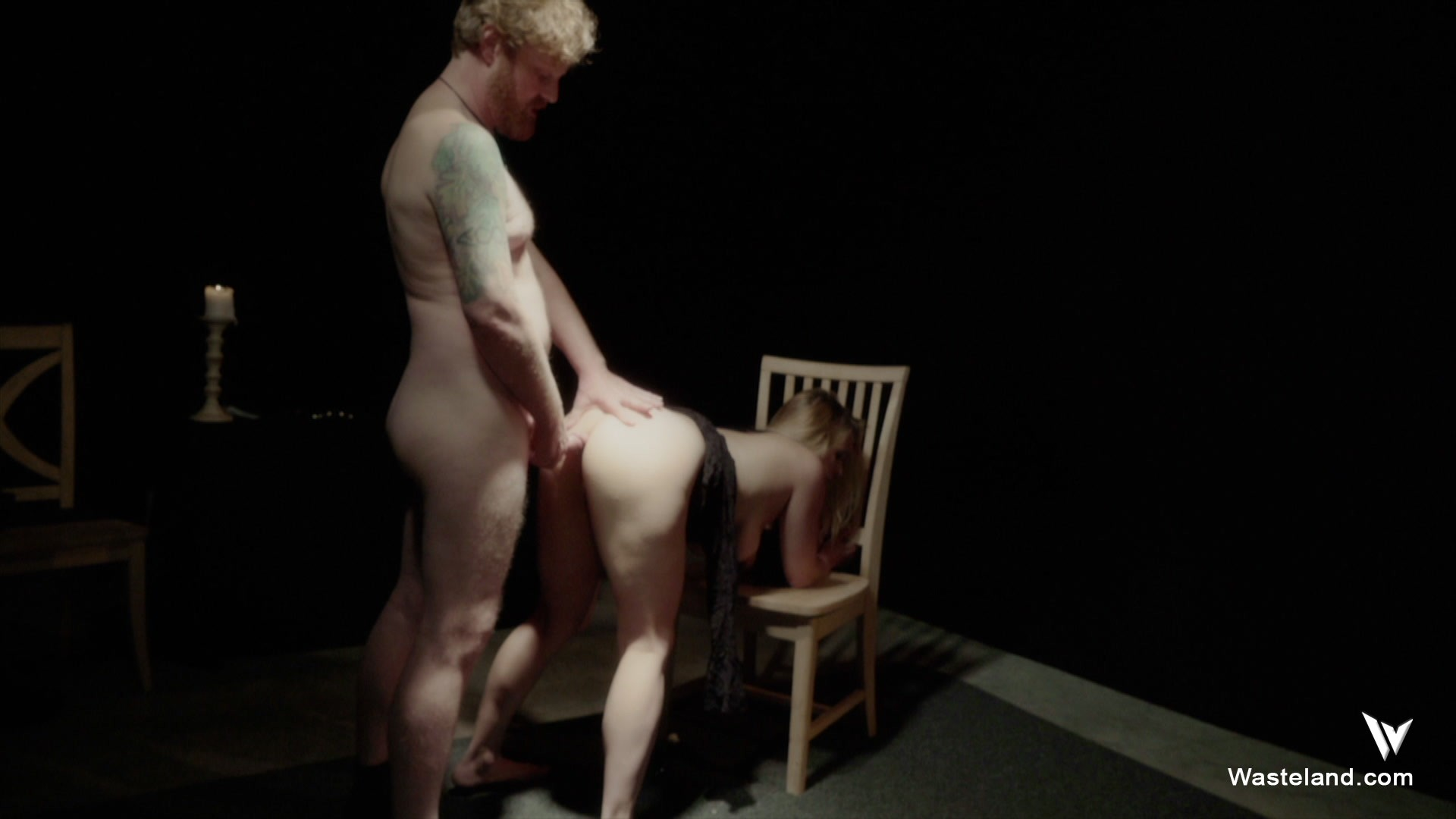 Boobs show bound to please porn movie brunette naked