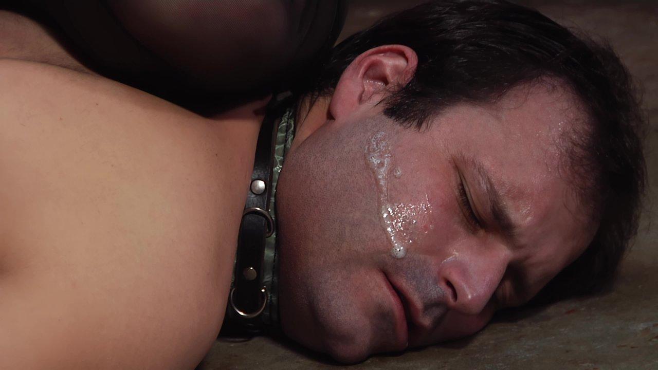 Bdsm master daddies gangfuck hot young slave boys