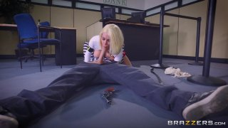 Streaming porn video still #3 from Brazzers Presents: The Parodies 8