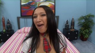 Streaming porn video still #1 from Asian Schoolgirl's Lost Innocence