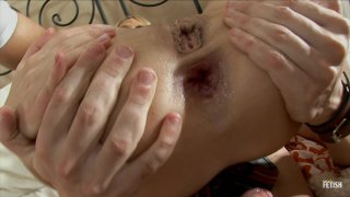 Streaming porn scene video image #5 from Blonde Teen Gets Fucked Up Her Tight Ass