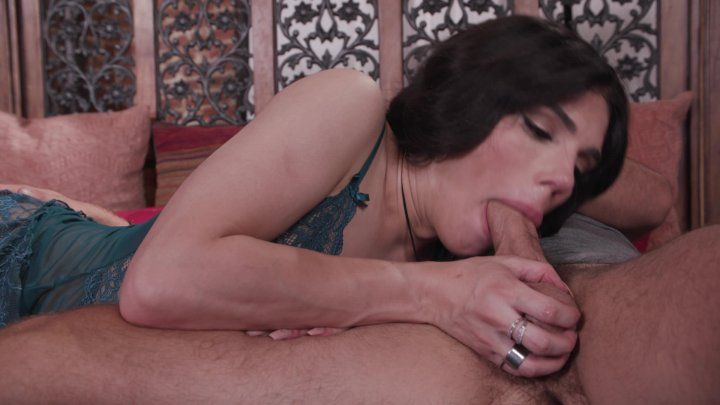 Streaming porn video still #1 from My First Trans Action