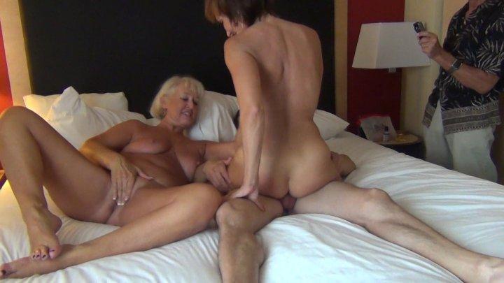Streaming porn video still #1 from 100% Real Senior Swingers