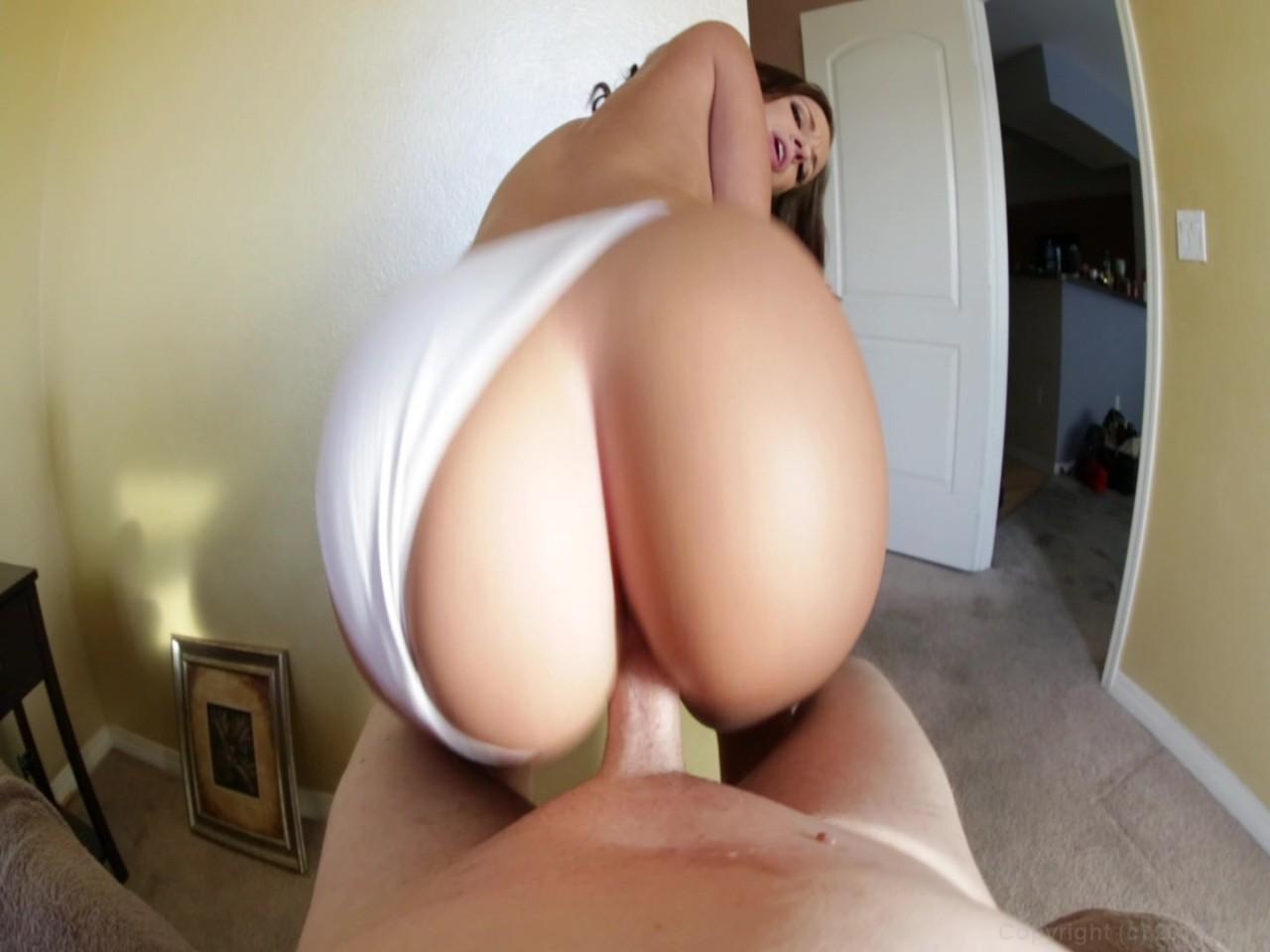 Big boobs brunette fucking pov