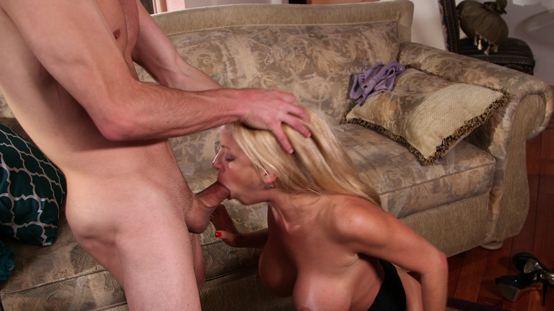 Fucked wildly by a nympho milf
