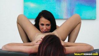 Streaming porn video still #7 from Moms Lick Teens Vol. 17