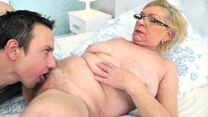 Streaming porn video still #1 from Grandma's Bush 22