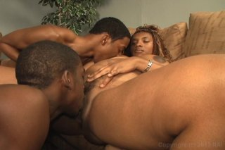 Streaming porn video still #3 from Black Bi Sex Party 4