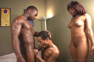 Streaming porn video still #2 from Black Bi Sex Party 4