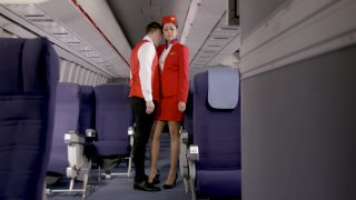 Streaming porn video still #1 from Flight Attendants, The