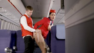 Streaming porn video still #4 from Flight Attendants, The