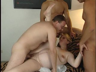 Streaming porn scene video image #6 from Pregnant whore in a gangbang
