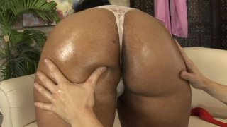 Streaming porn scene video image #3 from Black BBW Gets White Dick Stuffed Deep Inside Her