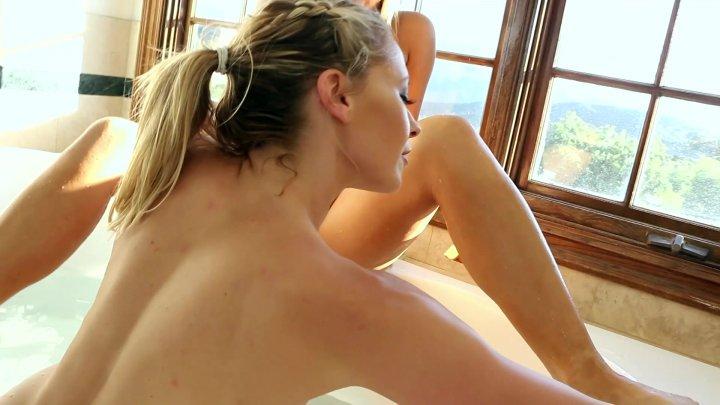 Streaming porn video still #1 from Blonde's First Butt