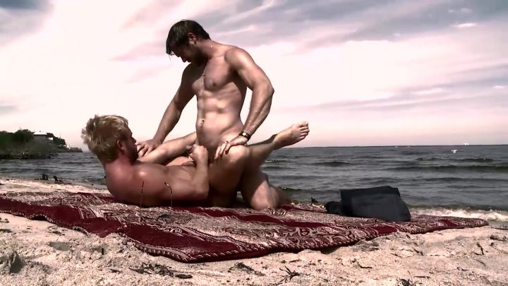 Streaming porn video still #7 from Men In The Sand