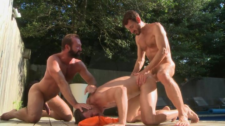 Streaming porn video still #1 from Men In The Sand