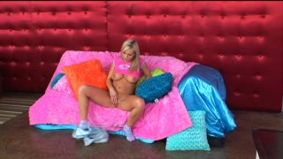 Streaming porn video still #1 from Barely Legal All By Myself #2