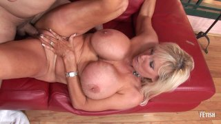 Streaming porn scene video image #9 from Big Tit Blonde Granny Still Knows How To Fuck Like A Champ