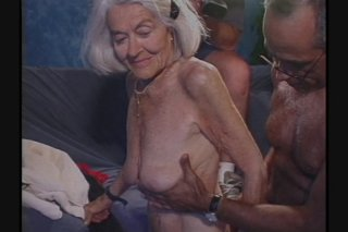 Streaming porn scene video image #7 from Grannys getting gangbanged by own nephews compilation
