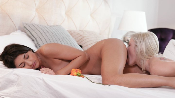 Streaming porn video still #1 from Lesbian Stories Vol. 4