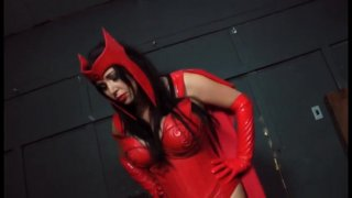 Streaming porn video still #2 from Scarlet Witch 2: VS Ms. Marvel And Spiderwoman