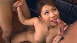 Streaming porn video still #5 from True Asian Threesomes