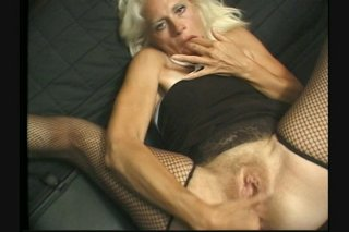 Streaming porn scene video image #1 from Granny in hot threesome