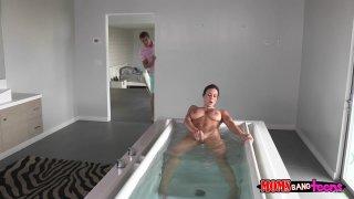 Streaming porn video still #2 from Moms Bang Teens Vol. 7
